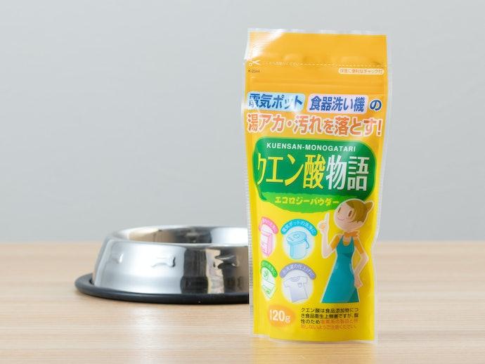 食器のぬるぬるが落ちにくい場合はクエン酸が効果的
