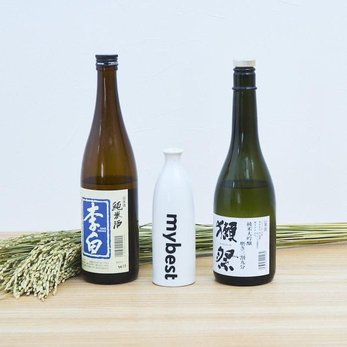 特別な日には「純米大吟醸酒」、普段の食卓には「純米酒」