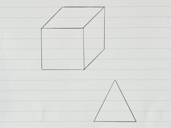 「ドット入り罫線」は図形の書き込みに最適