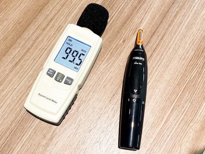 【検証結果ハイライト】最大で40dBの差!特にうるさいのは刃がむきだしの剃刀型