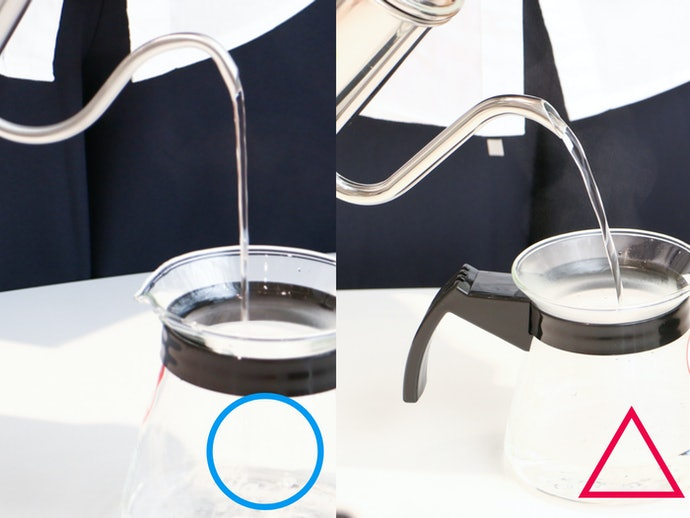 【検証結果ハイライト】細さ×角度が湯量コントロールを左右した!ネックがS字に近いほど弧を描かない