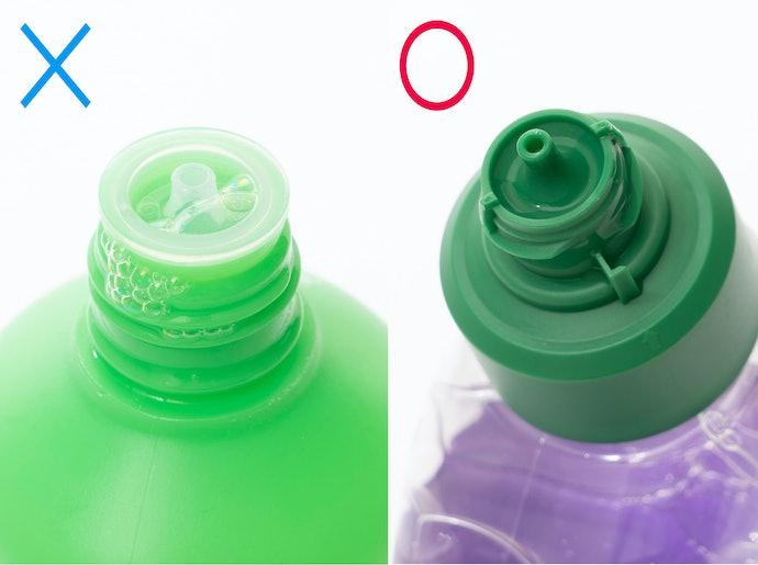 【検証結果ハイライト】角度がある注ぎ口の方が液だれしづらく、ストレスなく使用できる