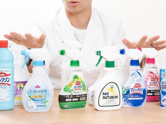 トイレ洗剤の検証