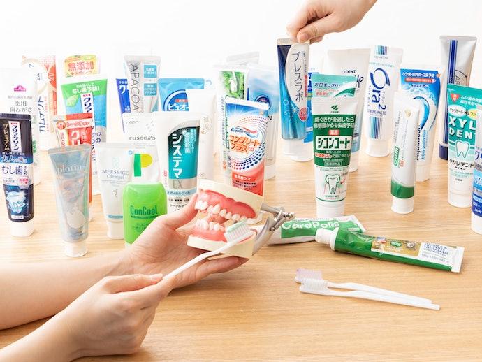 虫歯予防歯磨き粉の検証