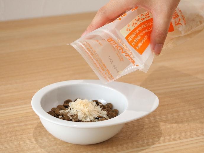 トッピング・温め・食器を変えることで食欲アップ