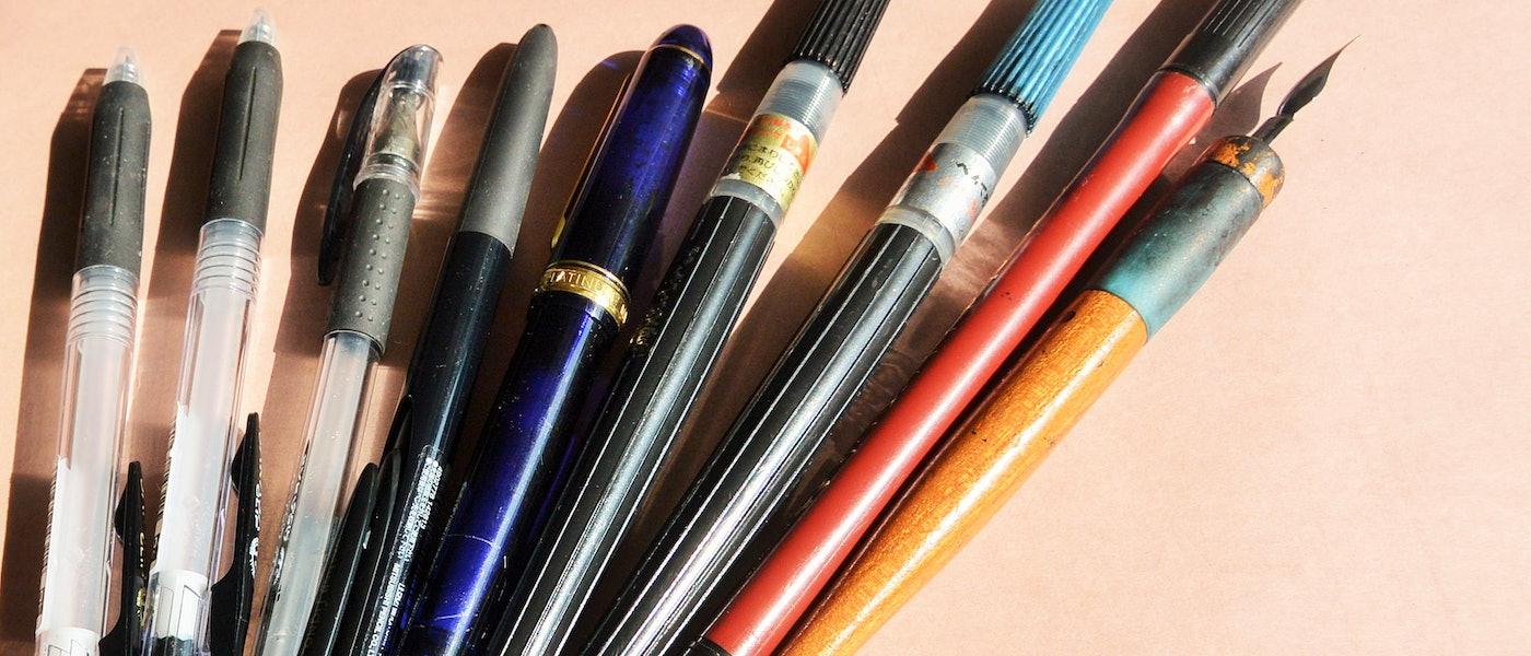 ペン字講師がおすすめする美文字が書けるペン10選