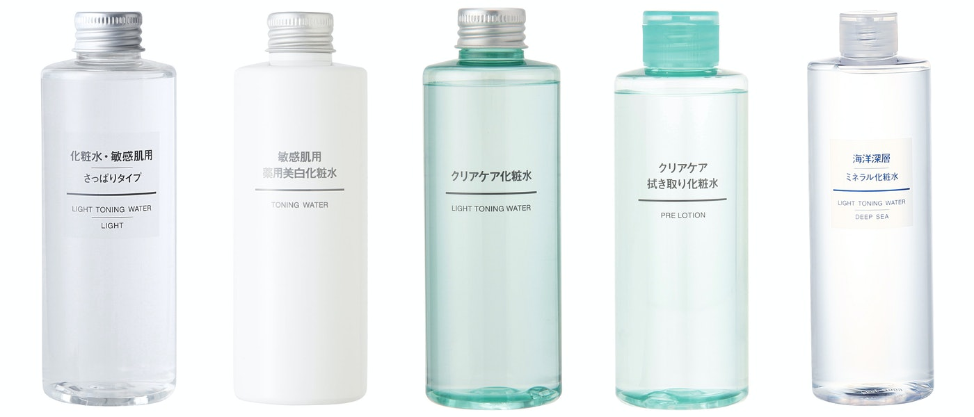 無印良品の商品担当者がおすすめする暑い季節にぴったりな化粧水5選