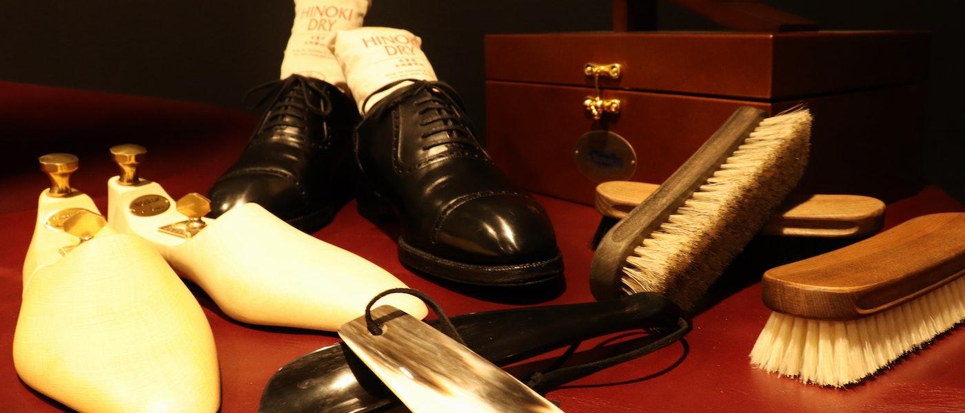 1歩でも長く大切な靴と付き合うために。靴を綺麗に保管する為に考えられたこだわりのアイテム10選