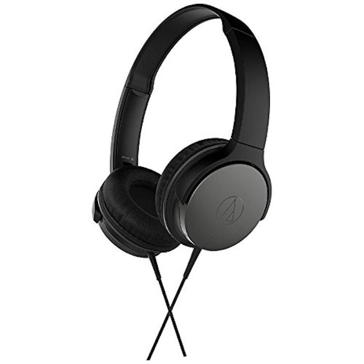 オーディオテクニカ ポータブルヘッドホン ブラック ATH-AR1 BK 1枚目