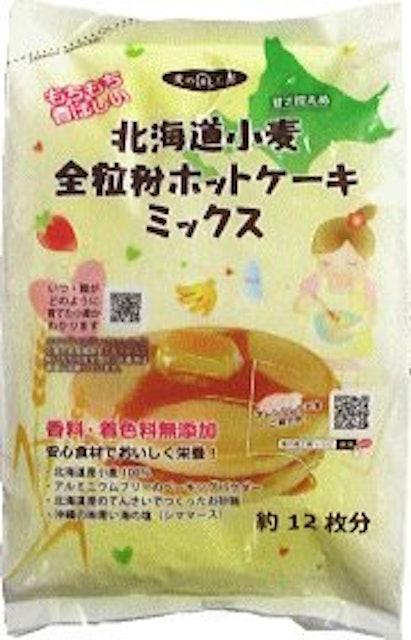 アグリシステム 北海道小麦 全粒粉ホットケーキミックスの画像