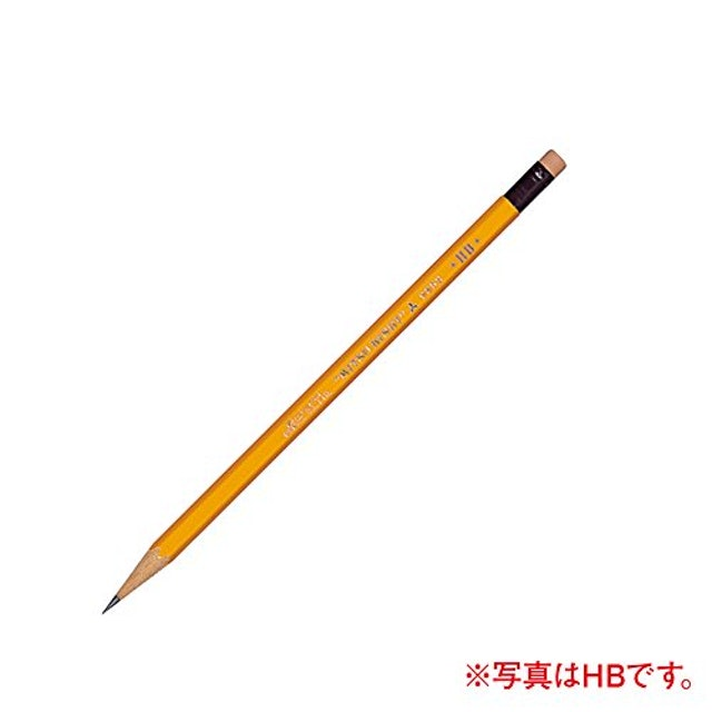 三菱鉛筆 消しゴム付き K9852B 1枚目