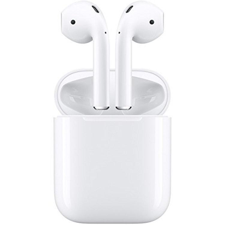 apple ワイヤレスイヤホン AirPods MMEF2J/A 1枚目