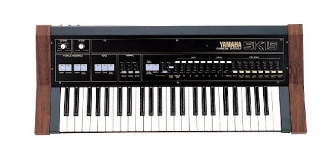 YAMAHA SK15 keyboardの画像