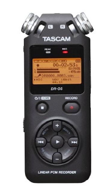 TASCAM リニアPCMレコーダー DR-05の画像