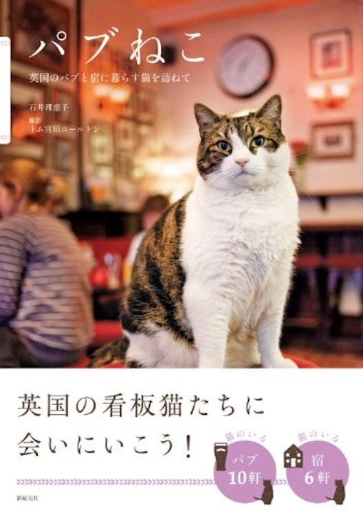 石井理恵子 パブねこ 英国のパブと宿に暮らす猫を訪ねて 1枚目