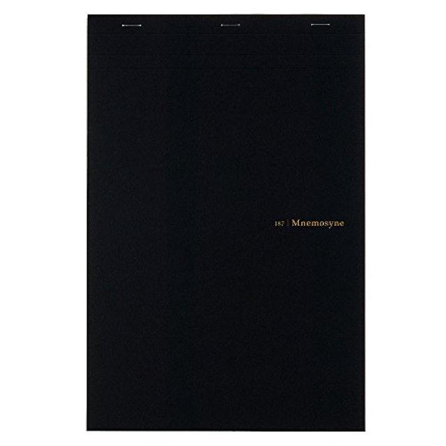 マルマン ソメス A4 ノート 革製ホルダー付 1枚目