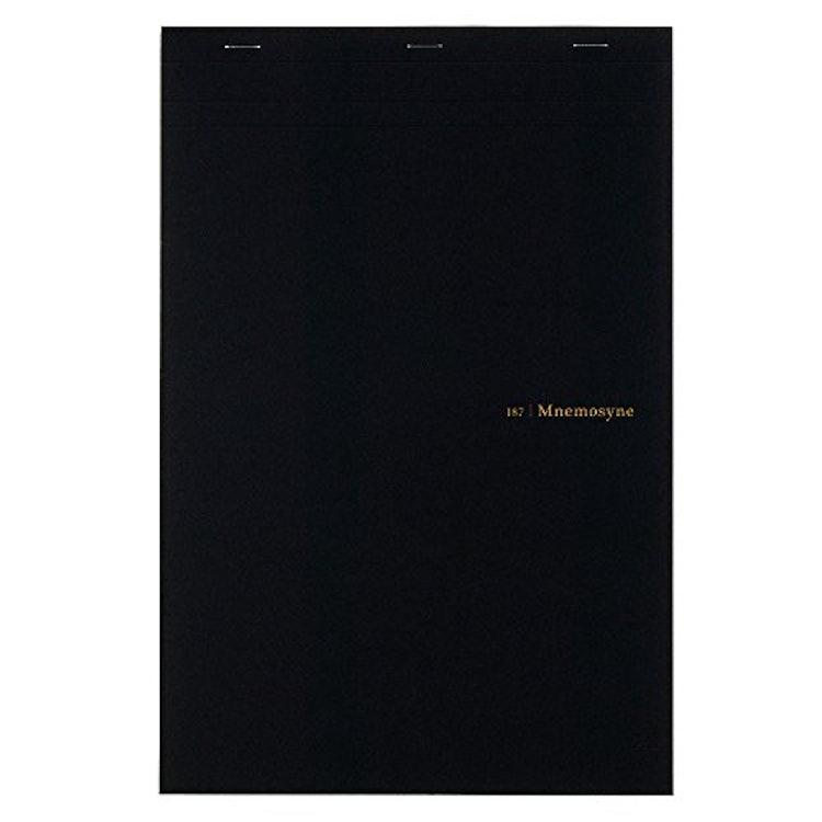 マルマン ソメス A4 ノート 革製ホルダー付の画像