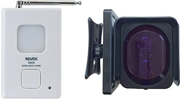 リーベックス 赤外線ビームセンサーチャイム X-890 1枚目