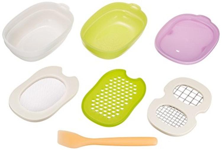 コンビ ベビーレーベル 離乳食ナビゲート 調理セットの画像