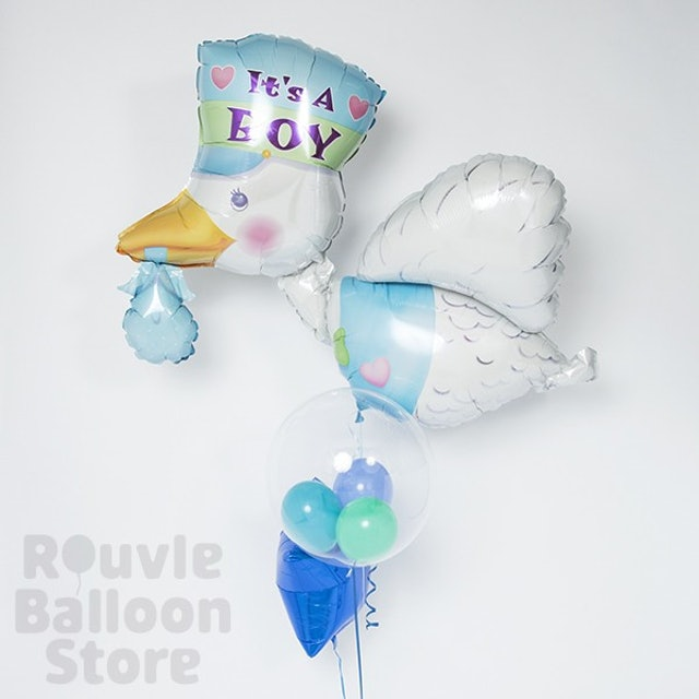 Rouvle Balloon Store 幸せを運ぶペリカン 1枚目
