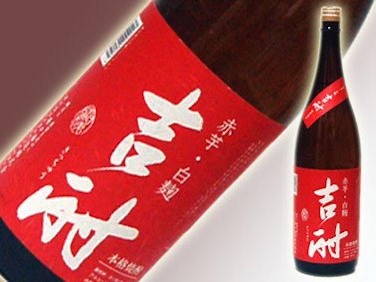 鹿児島 原口酒造株式会社 吉酎 赤芋白麹 25度 1800ml 1枚目