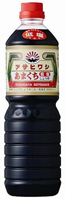 アサヒワシ醤油 低塩あまくち醤油 ×3本 1枚目