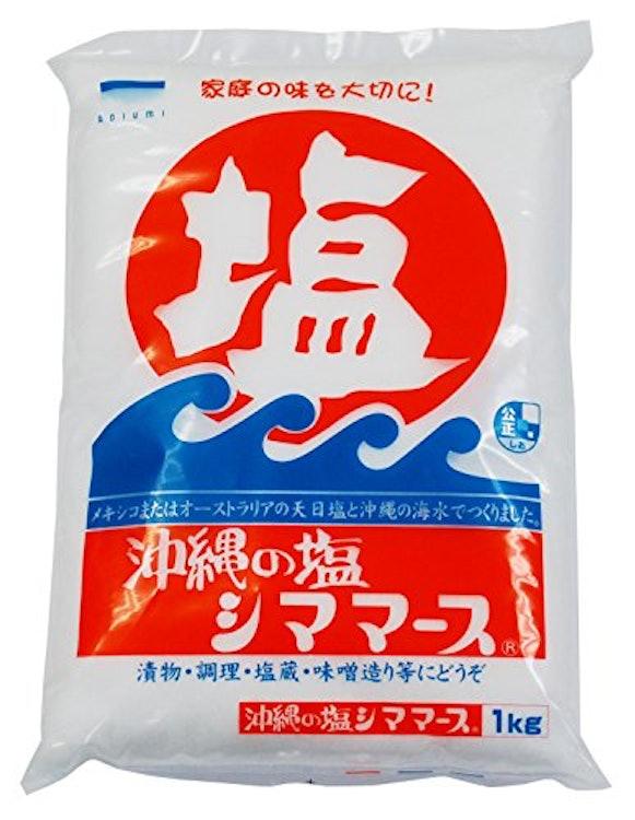 青い海 沖縄の塩 シママース 1枚目