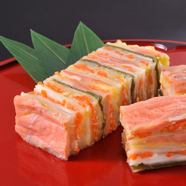 北彩庵 道産鮭と白菜の重ね漬 1枚目