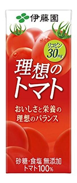伊藤園 理想のトマト 紙パック 200ml×24本 1枚目