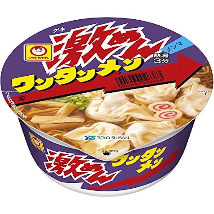東洋水産 マルちゃん 激めん ワンタンメン 91g×12個 1枚目