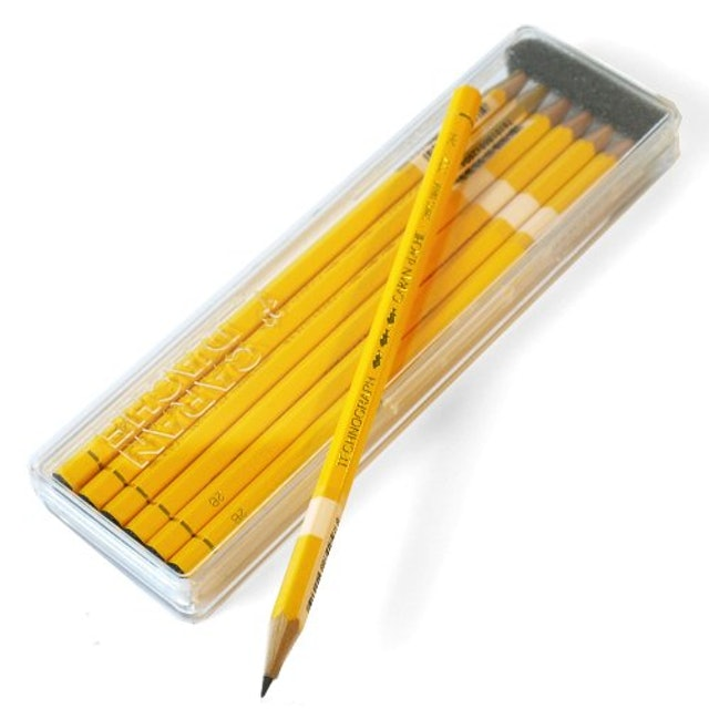 カランダッシュ テクノグラフ鉛筆 3B ダース 1枚目