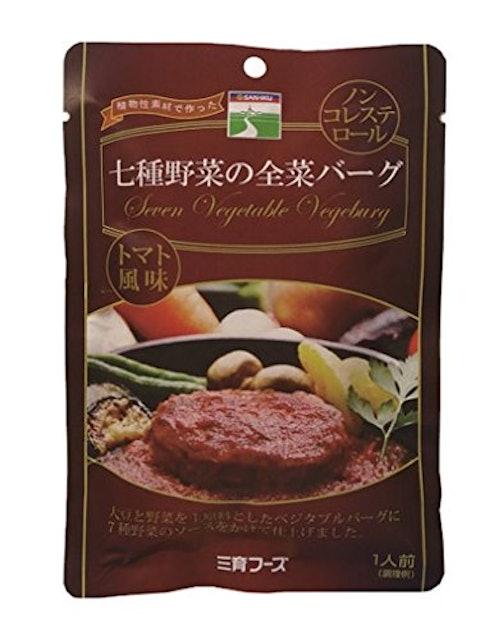 三育フーズ 七種野菜の全菜バーグ 1枚目