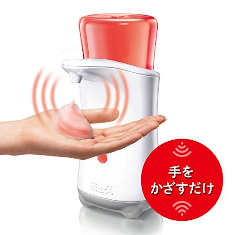 レキットベンキーザー・ジャパン ノータッチ 泡ハンドソープ 本体+詰替 キッチン用 1枚目