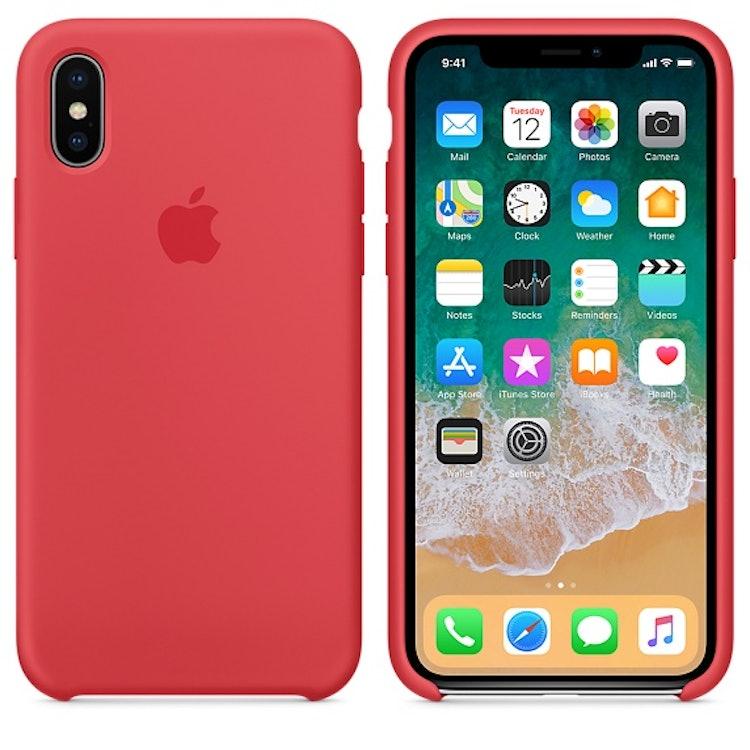 Apple iPhone X シリコーンケース 1枚目