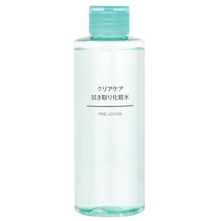 無印良品 クリアケア拭き取り化粧水 1枚目