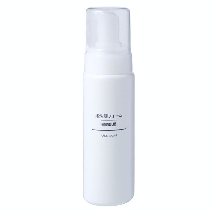 無印良品 泡洗顔フォーム・敏感肌用 200ml 1枚目