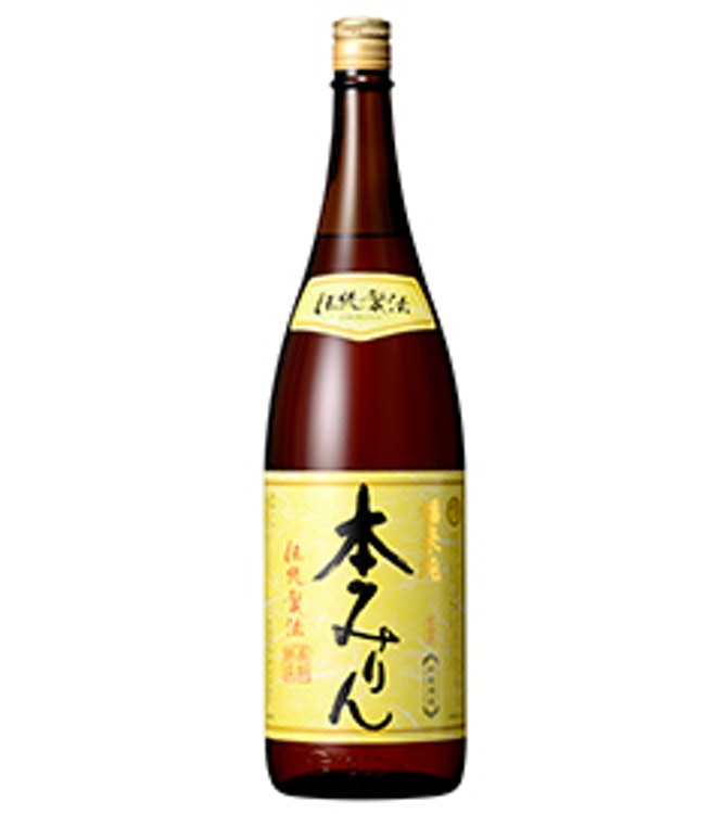 白扇酒造 福来純「伝統製法」熟成本みりん 1.8L 1枚目