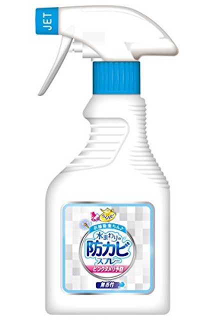 アース製薬 らくハピ水まわりの防カビスプレー 1枚目