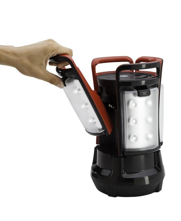 クアッド LED ランタン Quad ブラックの画像