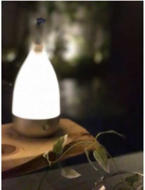 Bottled コードレスランプの画像