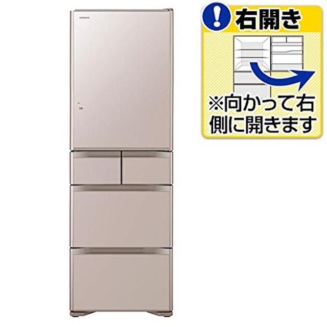 日立 5ドア冷蔵庫  401L 1枚目