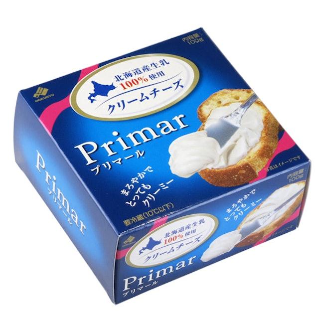 北海道乳業 【冷蔵】北海道クリームチーズ プリマール 100g 1枚目