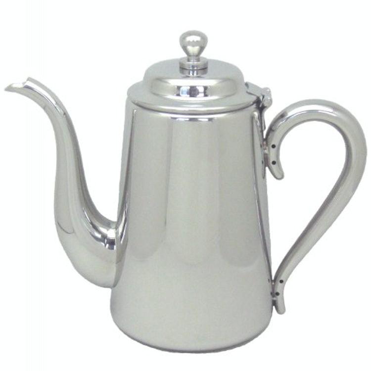 三宝産業 ユキワ 18-8 M型 コーヒーポット 5人用 1枚目