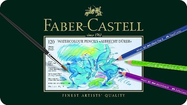 ファーバーカステル アルブレヒト デューラー水彩色鉛筆セット 120色 1枚目