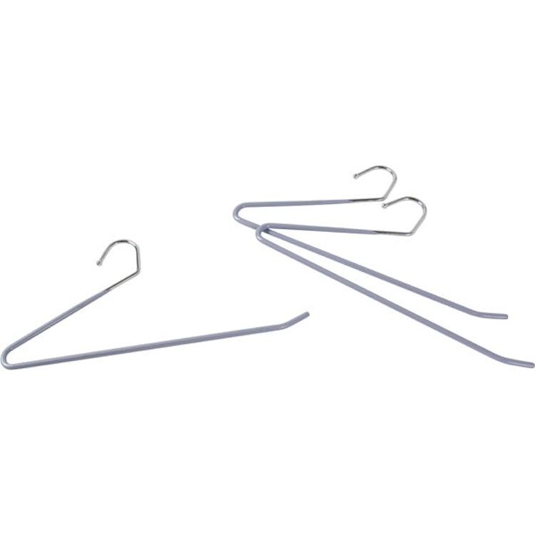 ニトリ すべりにくいスラックスハンガー (ラミー3本組) 1枚目