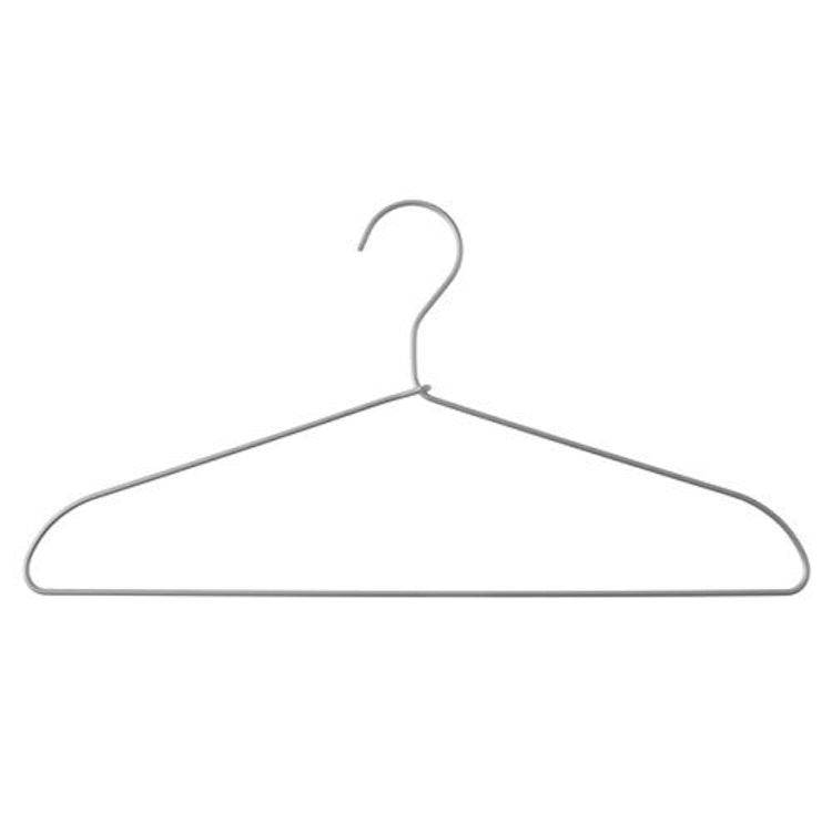 無印良品 アルミ洗濯用ハンガー・3本組 約幅41cm 1枚目