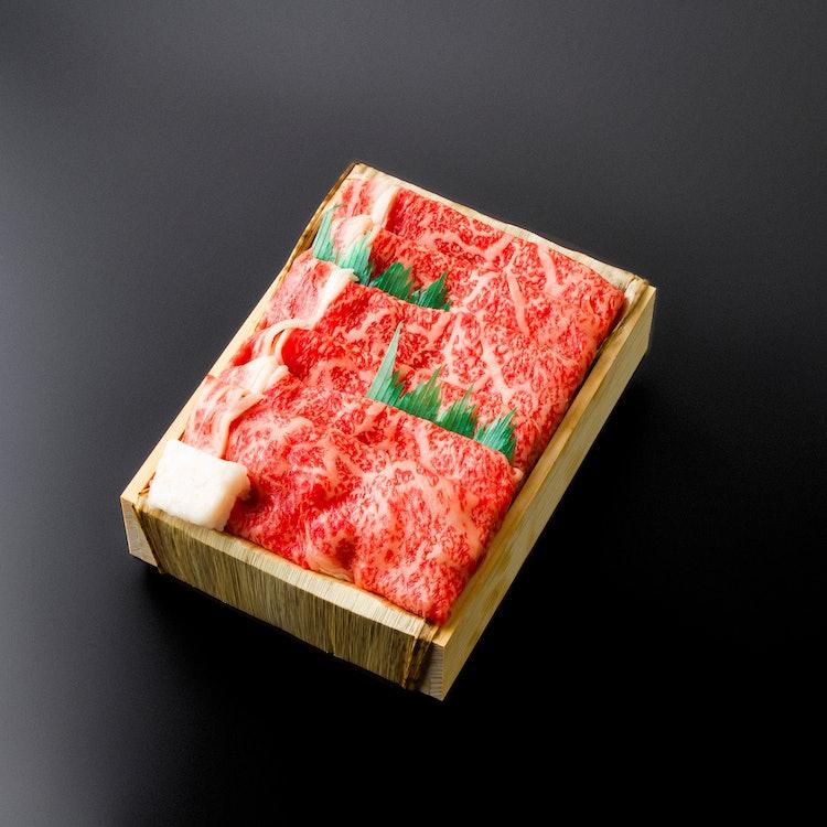 朝日屋  松阪肉すき焼き 600g 1枚目