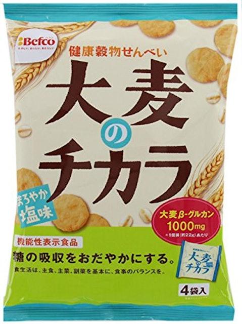 栗山米菓  大麦のチカラまろやか塩味 88g×12袋 1枚目