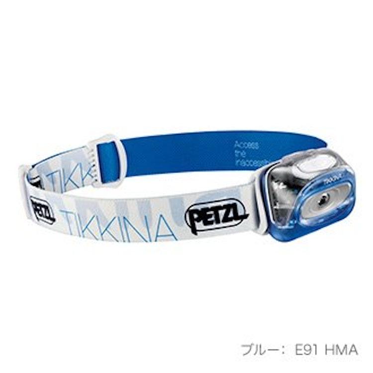 ペツル ティキナ  ヘッドランプ E91HMA 1枚目