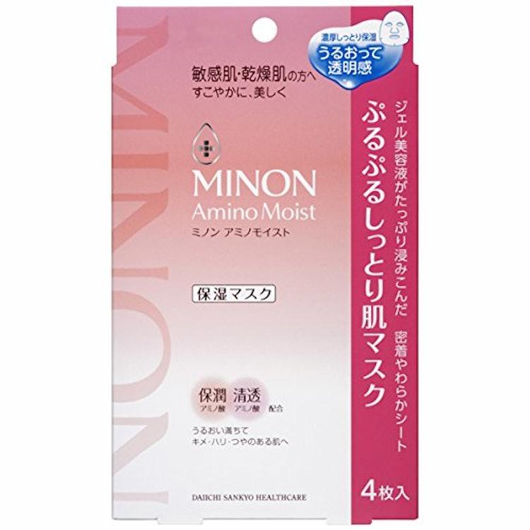 ミノン アミノモイスト ぷるぷるしっとり肌マスク  1枚目